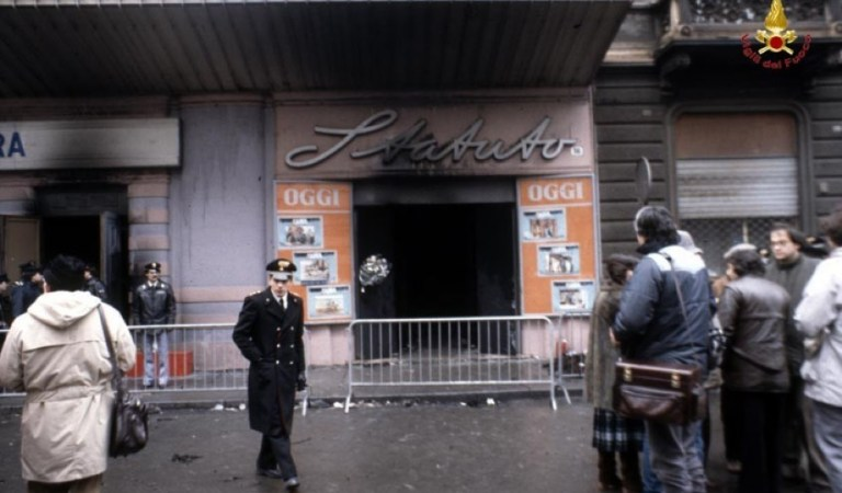 13 febbraio 1983, 13 febbraio 2020, 37 anni fa la tragedia del cinema Statuto. Per non dimenticare