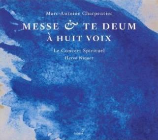 Marc–Antoine Charpentier:Te Deum et Messe à huit voix Le Concert Spirituel – Hervé NiquetGlossa GCD 921610