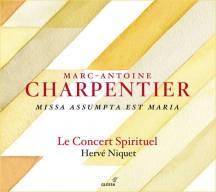 Marc–Antoine Charpentier:Missa Assumpta est MariaLe Concert Spirituel – Hervé NiquetGlossa GCD 921617