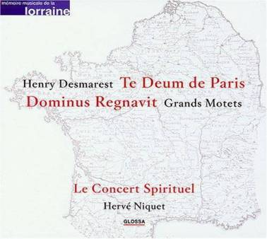 Henri Demarest:Grands Motets 1 Le Concert Spirituel – Hervé NiquetGlossa GCD 921607