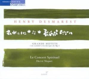 Henry Demarest:Grands Motets 2Le Concert Spirituel – Hervé NiquetGlossa GCD 921609