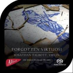 """""""Forgotten Virtuosi""""Jonathan TalbottAliud Records ACD HN 012-2"""