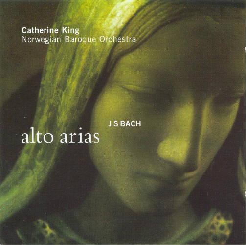 Johann Sebastian Bach:Alto AriasCatherine King Norsk Barokkorkester – Ketil HaugsandLinn Records CKD 158