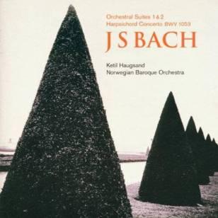 Johann Sebastian BachSuites 1 & 2, Concerto BVW 1053Norsk Barokkorkester – Ketil HaugsandLinn Records CKD 181