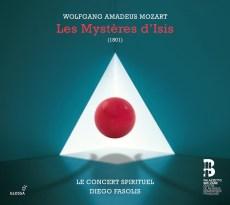 Wolfgang Amadeus Mozart Les Mystères d'Isis Le Concert Spirituel – Diego Fasolis Glossa GCD 921630