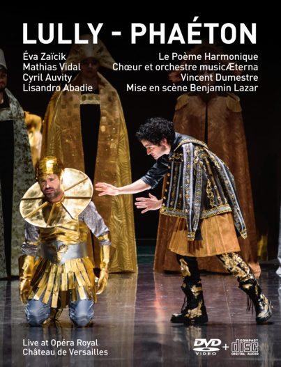 Jean Baptiste Lully PhaétonLe Poeme Harmonique – Vincent Dumestre DVD+CD Versailles Spectacles #12