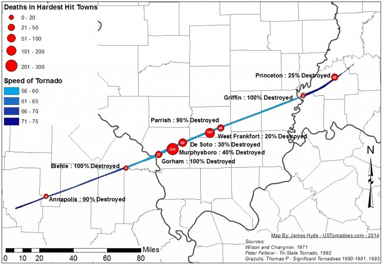 Tri State Tornado Facts History And Information