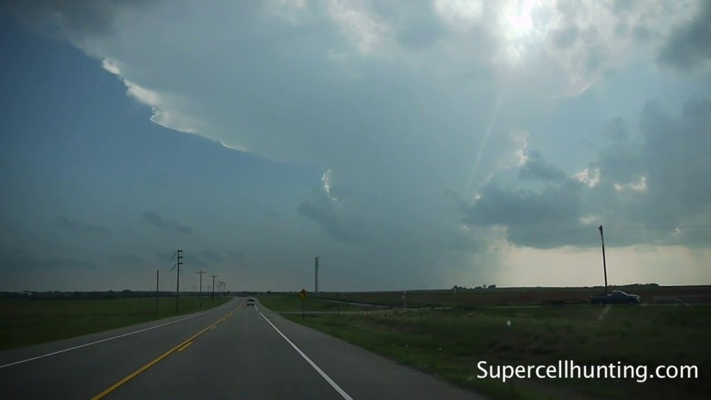 May 11, 2010 Storm Chase  | Tornado Warned Supercell near Harmon, OK