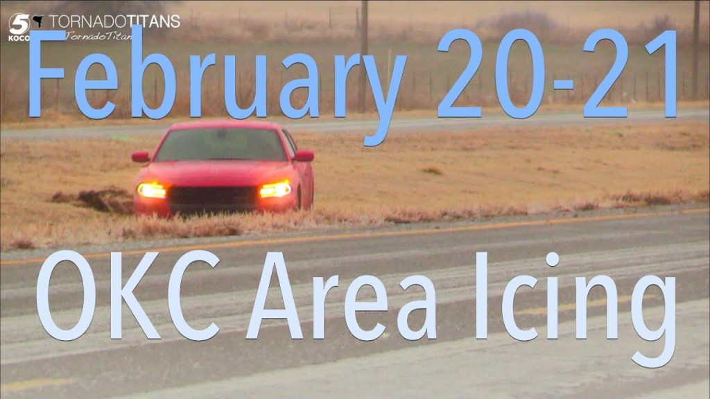 February 20-21, 2018 Storm Chase | Ice in Central Oklahoma!