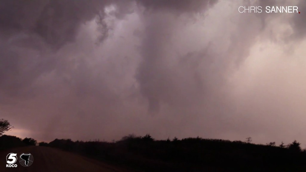 April 16, 2017 Storm Chase   Tornadoes near Chester, Oklahoma