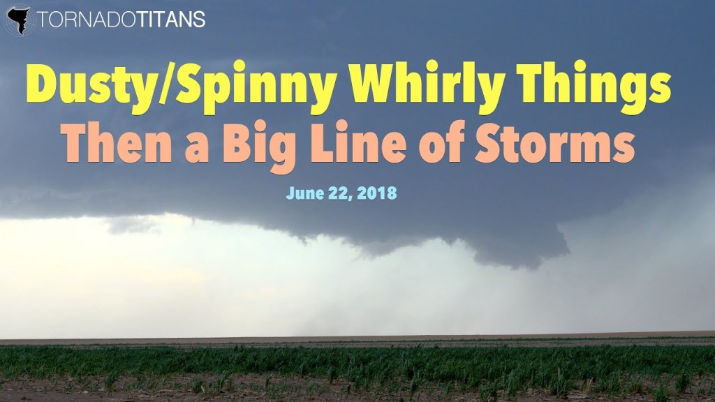 June 22, 2018 Storm Chase | NW OK Supercells and Derecho