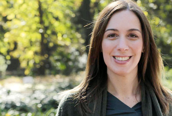 María Eugenia Vidal, presenta un paquete de medidas para ayudar a las Pymes