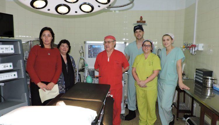 Tornquist – El Hospital Municipal adquirió una mesa de anestesia