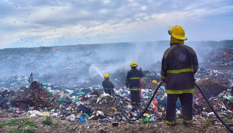 Tornquist – El Municipio radicó una denuncia por el incendio en el basurero