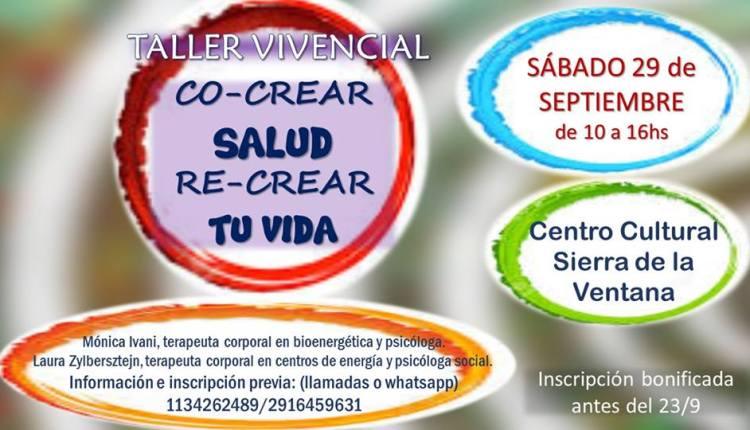 Sierra de la Ventana – «Taller Vivencial» en el Centro Cultural