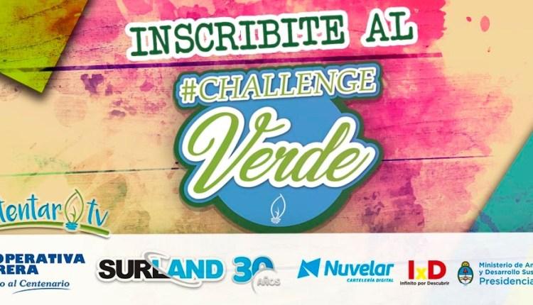 Sumate al desafío «Challenge Verde»