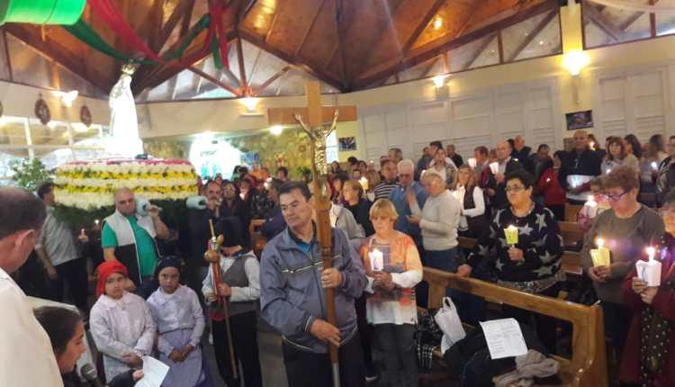 La Gruta – La 32º Peregrinación, tuvo la bendición de la lluvia