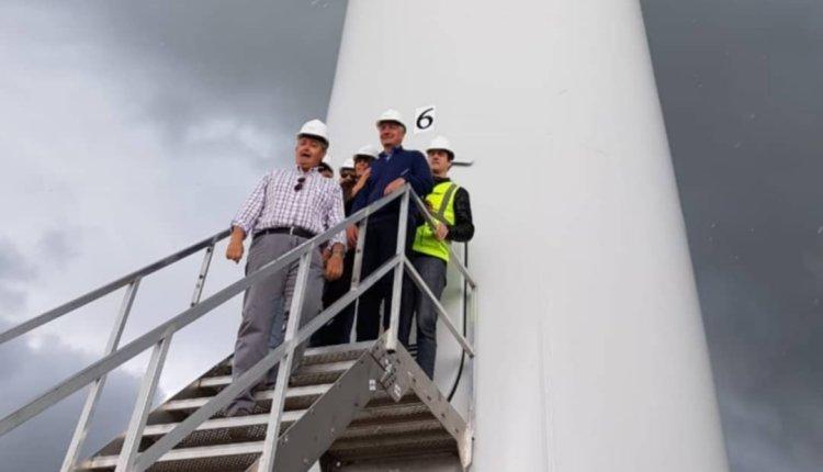 Energía: en 45 días estará terminado el tercer parque eólico de la zona