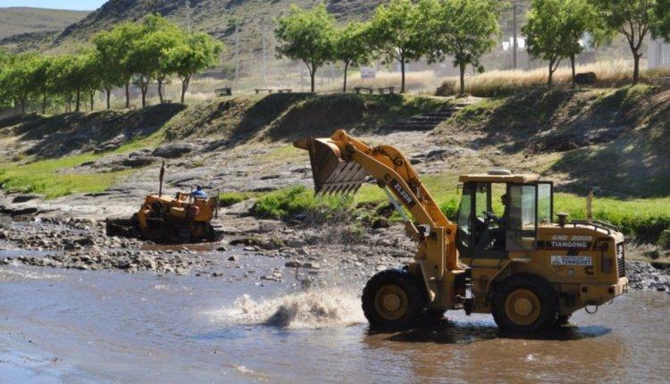 Sierra de la Ventana – Por limpieza hoy y mañana, estará cerrado el dique