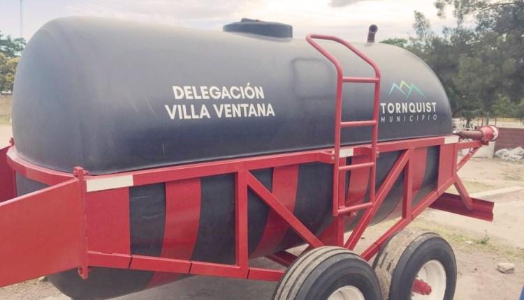 Villa Ventana – La localidad ya cuenta con un tanque regador