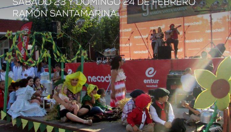 Necochea – Fiesta Provincial del Girasol en Ramón Santamarina
