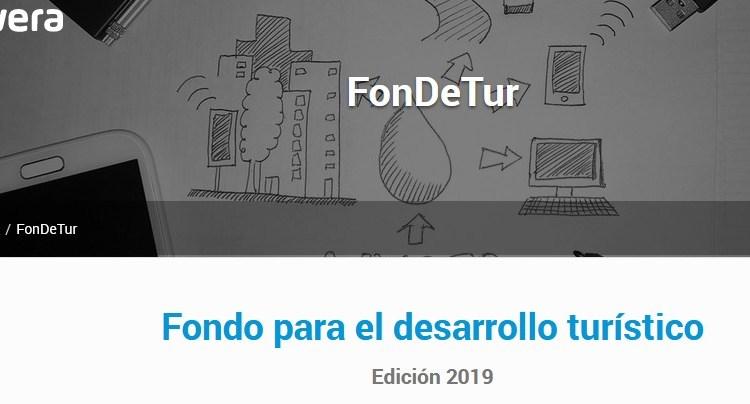 Convocatoria para el Fondo para el Desarrollo Turístico: edición 2019
