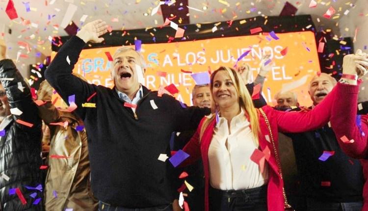Morales se adjudicó la victoria en Jujuy y le dedicó el triunfo al presidente Macri