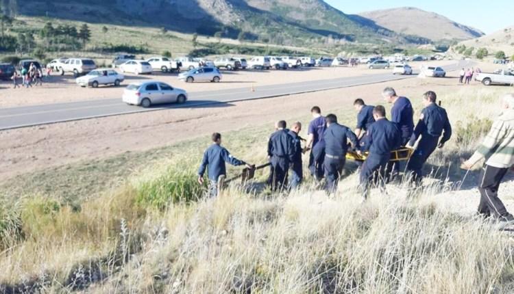Ruta 76 – Una mujer tuvo que ser asistida por los Bomberos Voluntarios en el «Mirador del Casuhatí»
