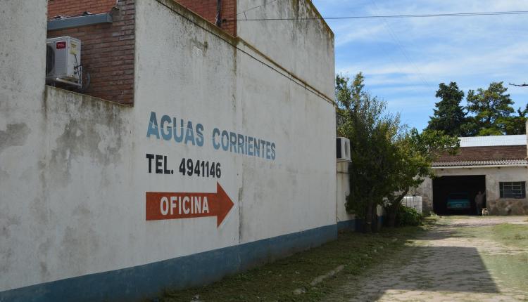 Tornquist – Corte de agua no programado en el Barrio Norte