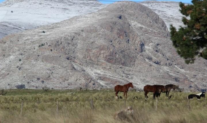 Comarca Serrana – La nieve genera expectativa en la región