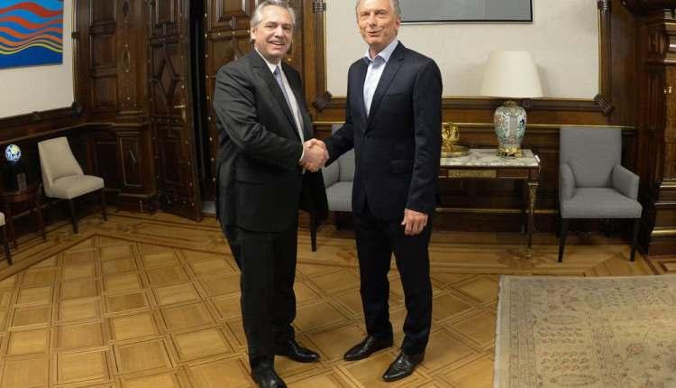 Elecciones 2019 – Mauricio Macri desayuna con Alberto Fernández en el inicio de la transición