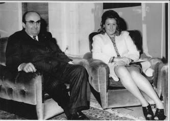 Pianelli e la figlia Cristina