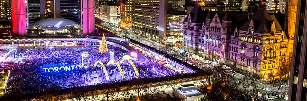 Cavalcade Of Lights City Of Toronto