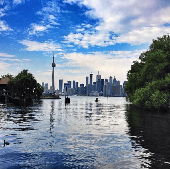 Toronto Island View