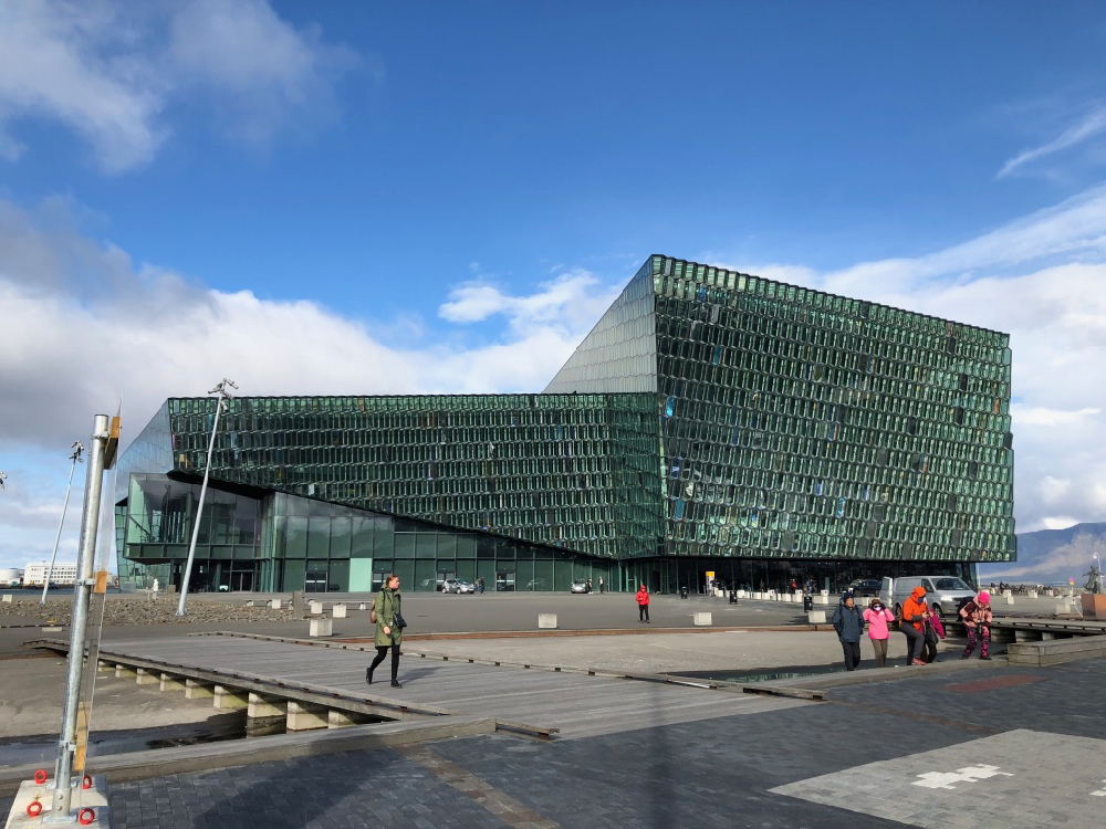 Visiting The Harpa Concert Hall in Reykjavik Iceland