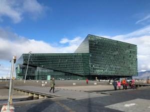 Visiting The Harpa Concert Hall in Reykjavik Iceland