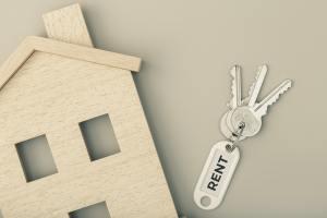 Rent a house concept