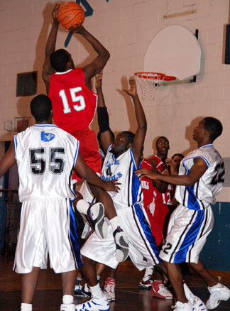 Wayne Dawkins - West Hill junior boys