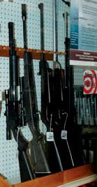 air rifles - replica guns