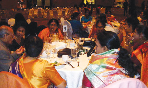 Guests at the charity ball