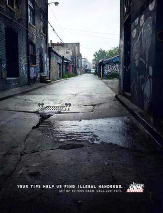 Cash for Guns alley poster