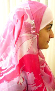 The two-piece hijab is popular amongst many young females