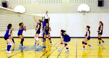 Mowat senoir girls' volleyball