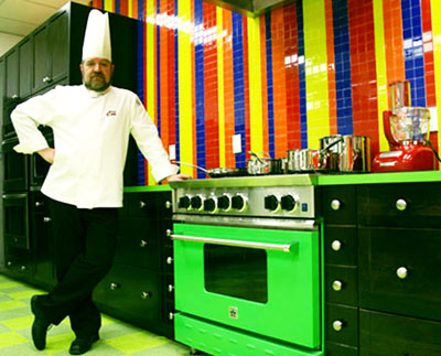 Head Chef Clive Lawrence c.c.c. will be teaching children to make tasty and healthy snacks.