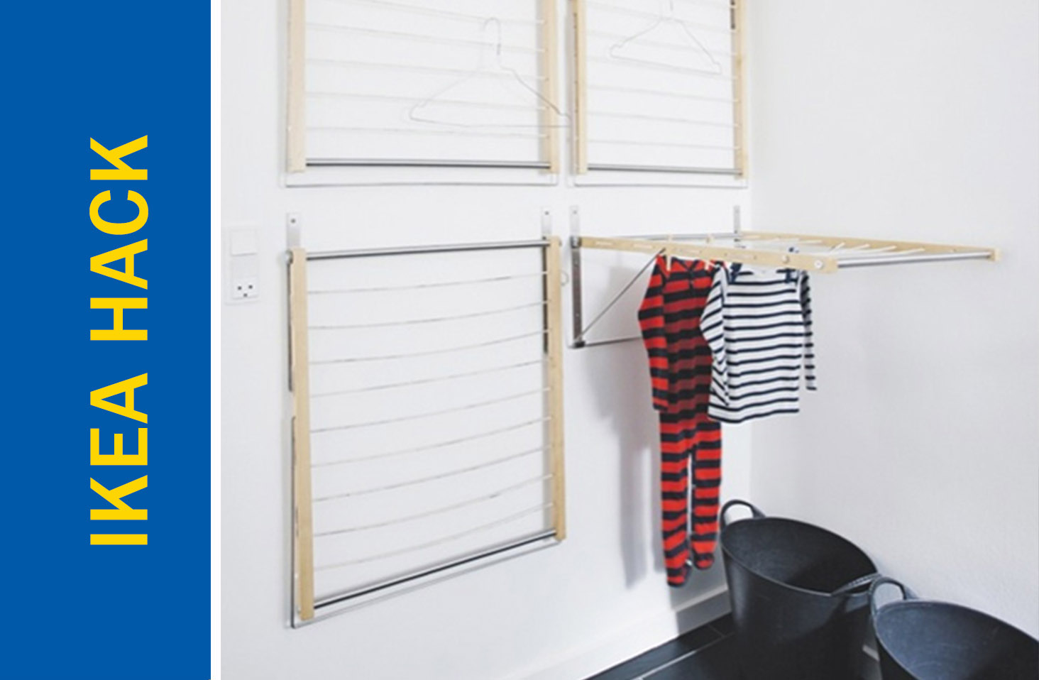 space saving clothes drying rack