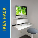 Awesome Ikea Hack Of The Week A Tiny Desk