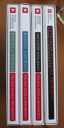 Polish DVDs [spines]