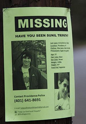 Help Us Find Sunil Tripathi - Neal Broffman