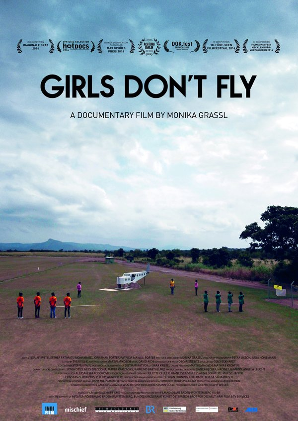 Girls Don't Fly [poster]