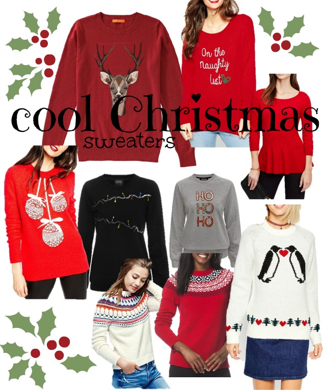 cool christmas sweaters christmas jumper 2015